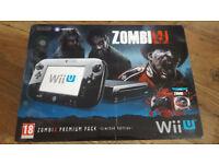 Nintendo Wii U ZombiU Premium Pack 32GB Black Handheld System