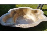 Fibreglass pond - mould