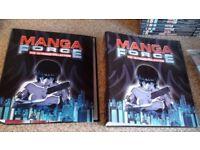 Anime Manga Force Magazines + Binders