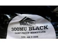 Damp Proof Membrane. 25 metres