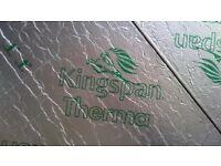 Kingspan 80/100/140 mm insulation boards
