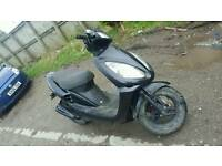 Sym 50 scooter moped 12 month mot cheap work scooter