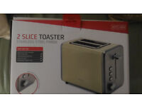 Goodmans Toaster used once - 2 months old (10-month warranty still with receipt).