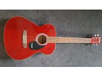 ACOUSTIC GUITAR FOR A CHILD. WITH CASE. MODEL B200. WESTFIELD. VERY GOOD CONDITION £18 OVNO