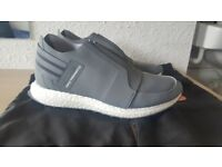Adidas Boost Y-3 X-RAY ZIP LOW grey and white size 9