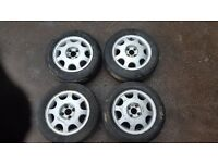 "Vauxhall 14"" Alloy Wheels (Nova, Corsa, Astra, Combo)"