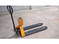 Pallet Truck with Scales 2000kg