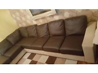 leather corner sofa delivery available
