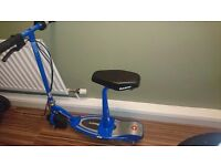 RAZOR BLUE SEATED ELECTRIC SCOOTER