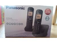 Panasonic KX-TGC212 twin phones.