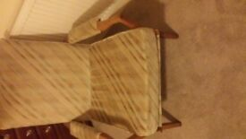 Bedroom Armchair for sale Ecellent codition has been re covered