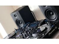PIONEER XDJ-RX with M-Audio BX5 D2 Studio Monitors Pair - As new condition