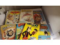 Selection of Comic annuals.