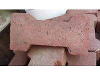 red dog bone style bricks