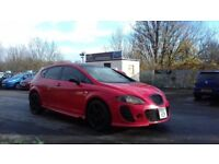 SEAT LEON 1.6 REFERENCE SPORT 5DR RED PETROL **LOW MILEAGE**SPORTS MODEL**ATTENTION GRABBER**