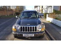 Jeep cherokee 2.8 TD 2006 limited only 69.000 miles hpi clear complete whit M. O. T