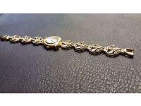 Ladies Gold Cherub Watch In Great Condition