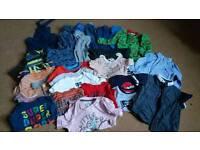 Large bundle boys 12-18 month clothes