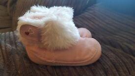 Baby crawling boots from mothercare