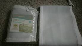 Breathable Baby Mesh Cot Liners X2 in packet £8