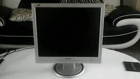 Phillips computer monitor +1.