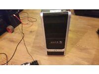 pc amd 3.2 quad core 6gb ram 1tb 1000gb hardrive very fast windows 7
