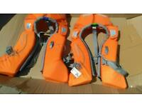 2 Tribord lifejackets one used once, one new