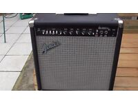 fender automatic 25 watt solid state combo amplifier