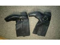 Mens motorbike boots size 8