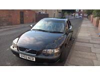 Volvo s60 2.0 T petrol,02 reg.=====£800 o.n.o