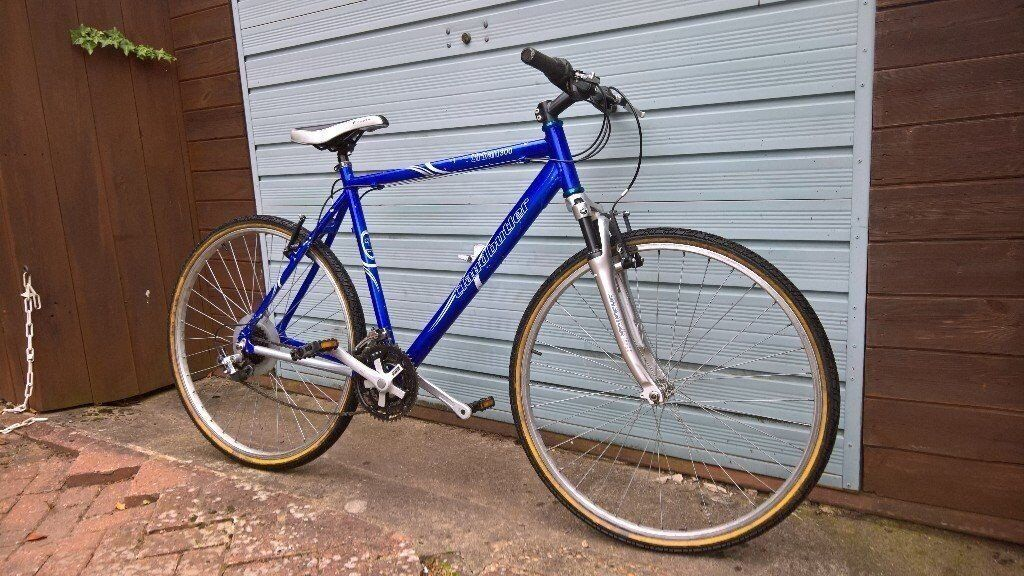 Claude butler lightweight alloy bike hybrid cycle front suspension works perfectly