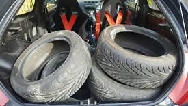 5x Toyo t1s tyres 205/50/15