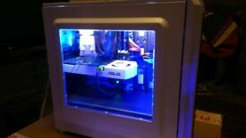 Gaming PC - RGB case with remote