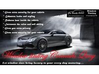 Professional window tinting services Deeside
