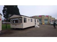 STATIC CARAVAN FOR SALE NORTHUMBERLAND HAGGERSTON CASTLE