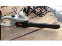 Ryobi electric 16 inch chainsaw
