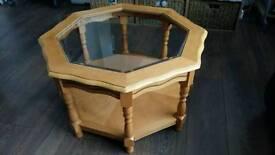 Maple wood coffee table