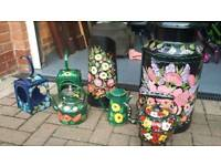 Hand painted Barge or Garden accessories