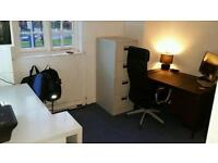 One desk in 125 square office in selly oak 24 hour asscess