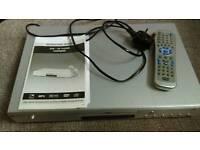 """LIMIT"" DVD player silver"