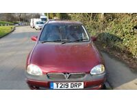 Vauxhall Corsa, Automatic 1.4, Low mileage, Repairing or Spares