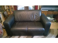 Free 2 seater leather sofa for collection today