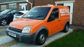FORD TRANSIT CONNECT (WATER FED POLE WINDOW CLEANING SYSTEM)