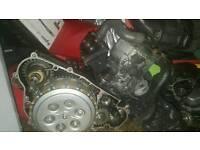 Yamaha tri z 250 engine