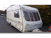 CARAVAN SWIFT RAPIDE 4-5 BERTH FULL AWNING