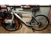 Hybrid racer bike paid £800 for Christmas( bought in november, fluid disc brake, suitable for ladies