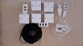 PHONE SOCKETS AND CABLE