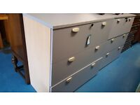 baby blue large filing cabinets with lock