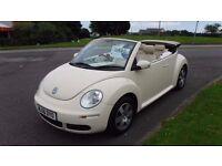 Volkswagen Beetle 1.4 2006 Luna,Convertible,Only 39,000mls,Diamond Cut Alloys,Very Clean,