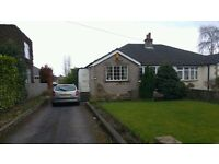 Spacious 2 bedroom semi-detached bungalow £135,000